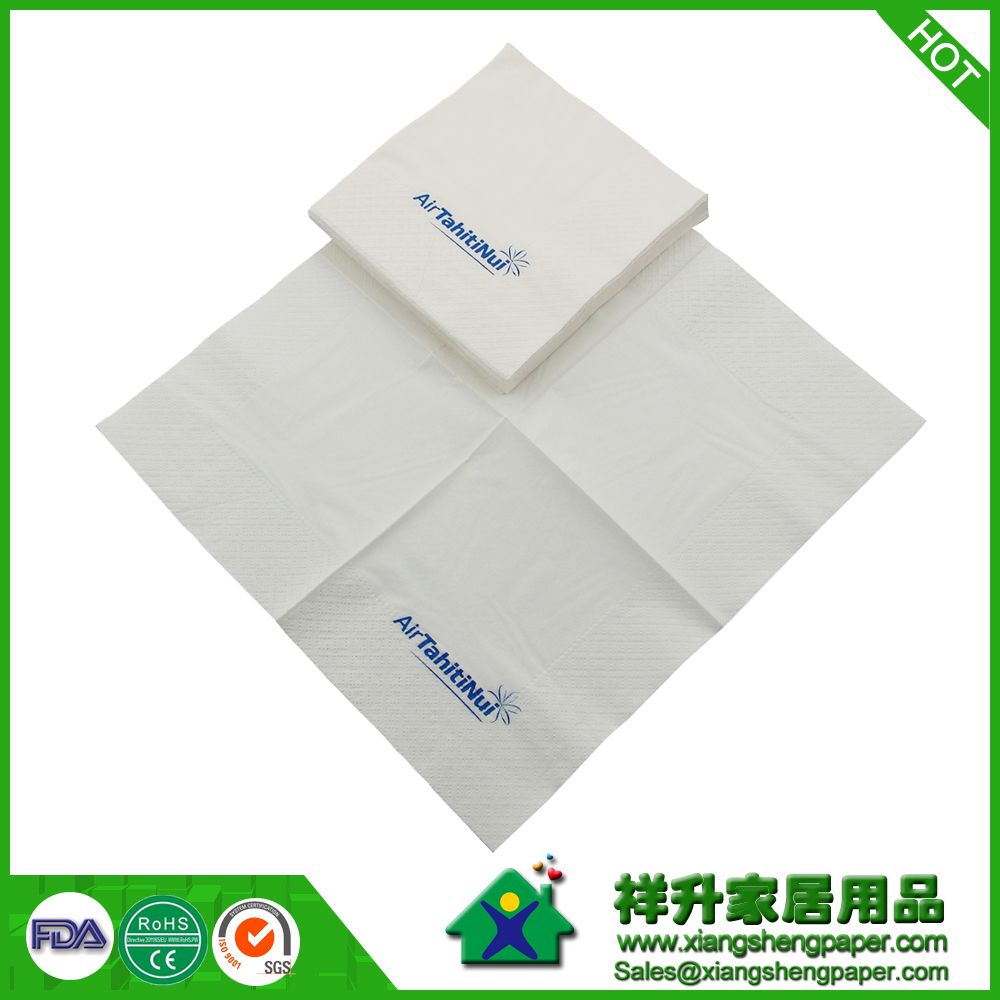 Airways Dinner Napkins / Airline Dinner Napkins / Embossed Paper Napkins / Engraved Paper Napkins / Good Quality Paper Napkins