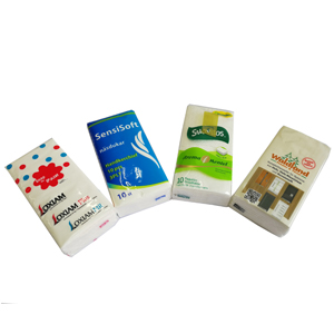 Mini Order 1000packs Promotional Pocket Facial Tissues
