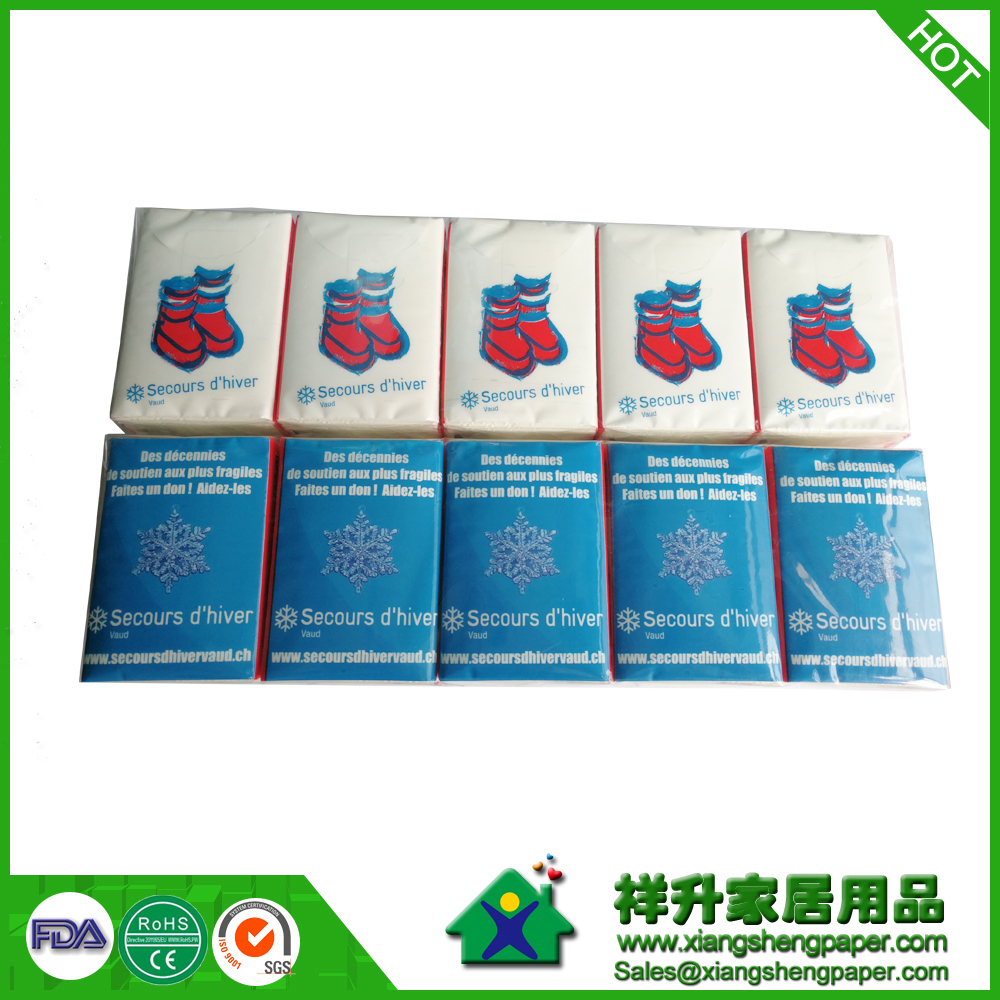 Advertising Mini Pocket Tissue,Dispensed Pocket Tissue Advertising,Custom Advertising Mini Pocket Tissue
